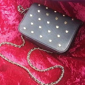 Heart Studded Betsey Bag